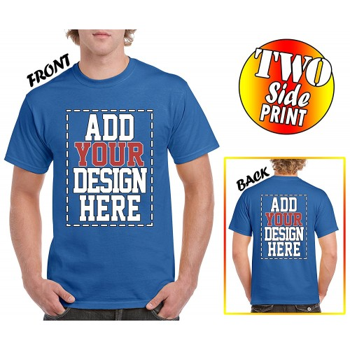 custom 2 sided t shirts design your own shirt front
