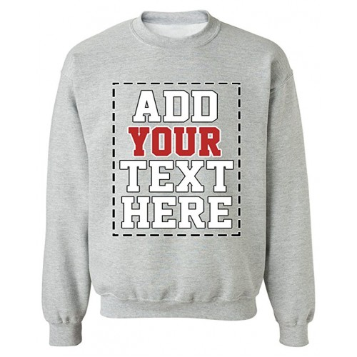 34d8159e296 DESIGN YOUR OWN SWEATSHIRT - Cool Custom Sweatshirts for Men   Women - Cute  Personalized Sweatshirt
