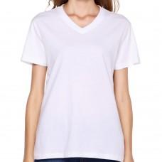 Custom Women V-Neck T-shirt