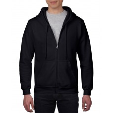 Custom Unisex Full Zip Hooded Sweatshirt